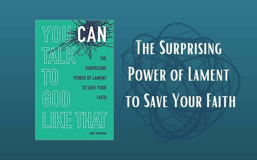 """Book Review: """"You CAN Talk to God Like That"""" by Abby Norman"""