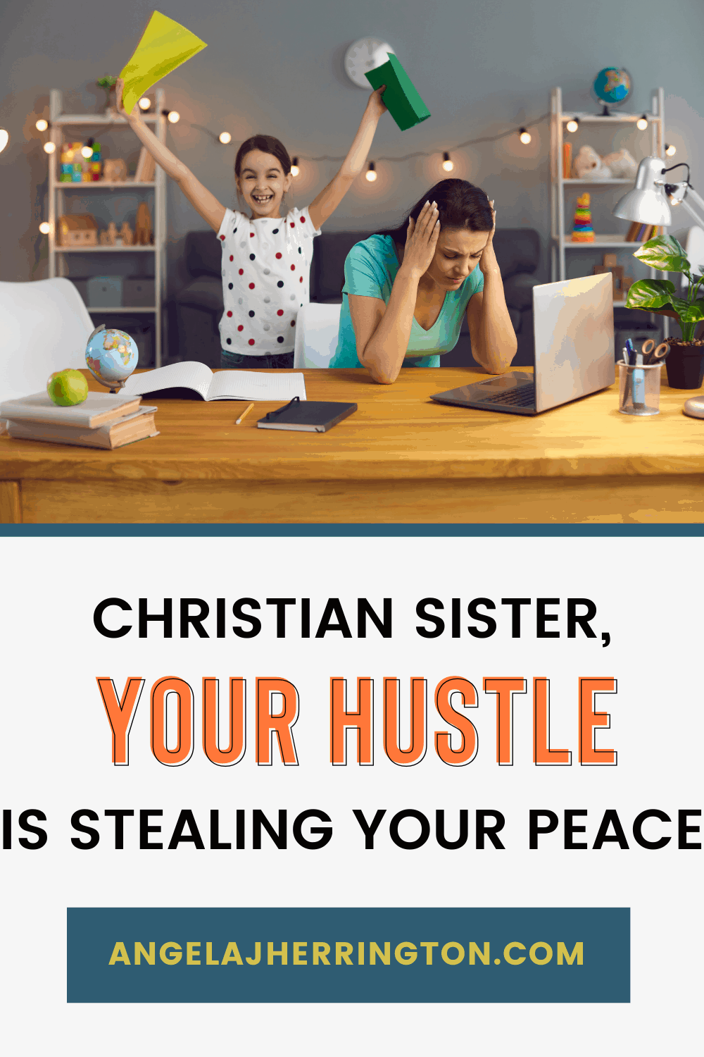 your hustle is stealing your peace and it's toxic religion's fault