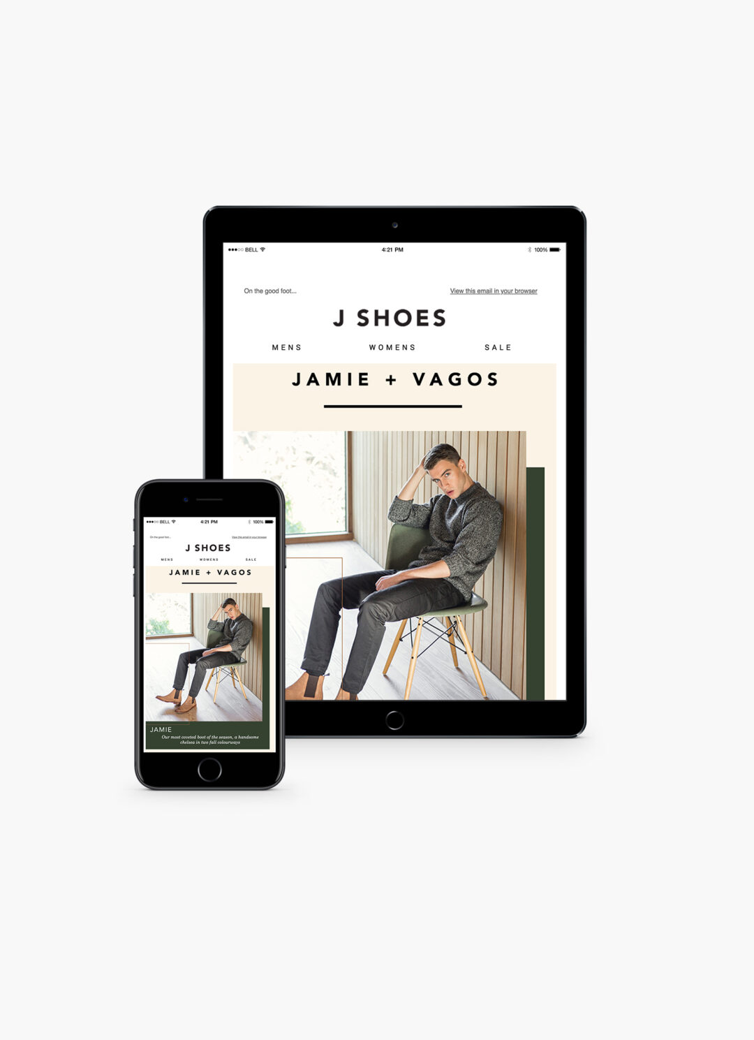 E-Mail Marketing: J Shoes