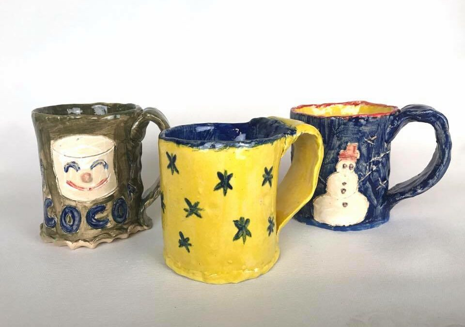 Family Workshop Cocoa Mugs–SOLD OUT