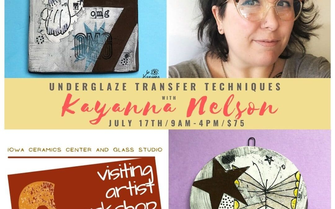 Visiting Artist Workshop: Kayanna Nelson and Transfer Techniques