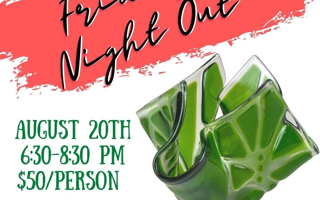 Friday Night Out: Glass Smash Vase