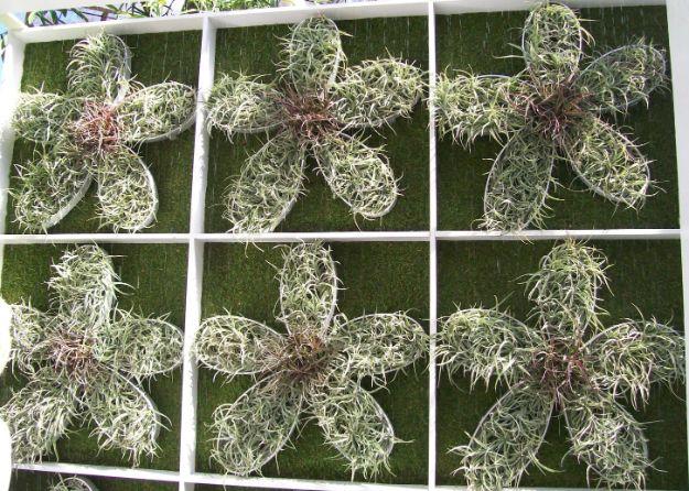 AIr plant exhibit Warhol repeat pattern