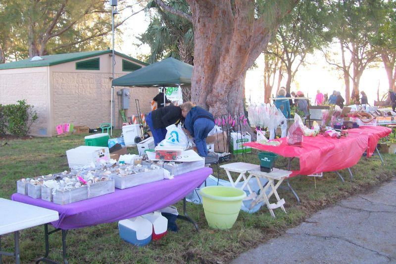 Flea Market Setup