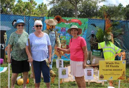 Scarecrow 2019 for the Garden Club of Cape Coral