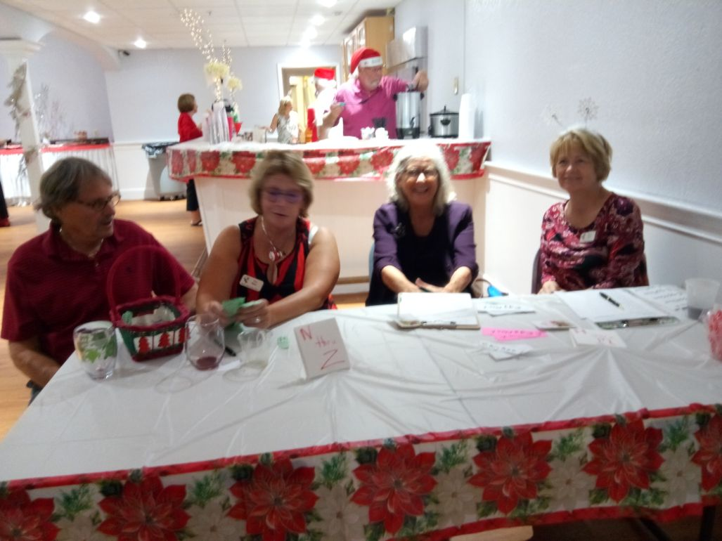Garden Club of Cape Coral Holiday Party 2019