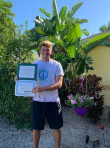 Thomas Cramer Winner of Donna Conway Award 2020