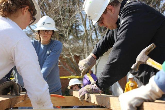 LCEC sponsors Cape Garden Club landscaping of Habitat's Women Build home – Deborah Haggett