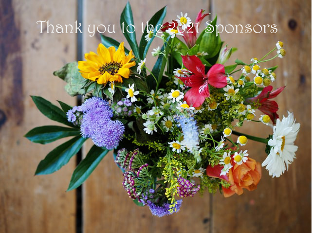 Flower Bouquet Thank you