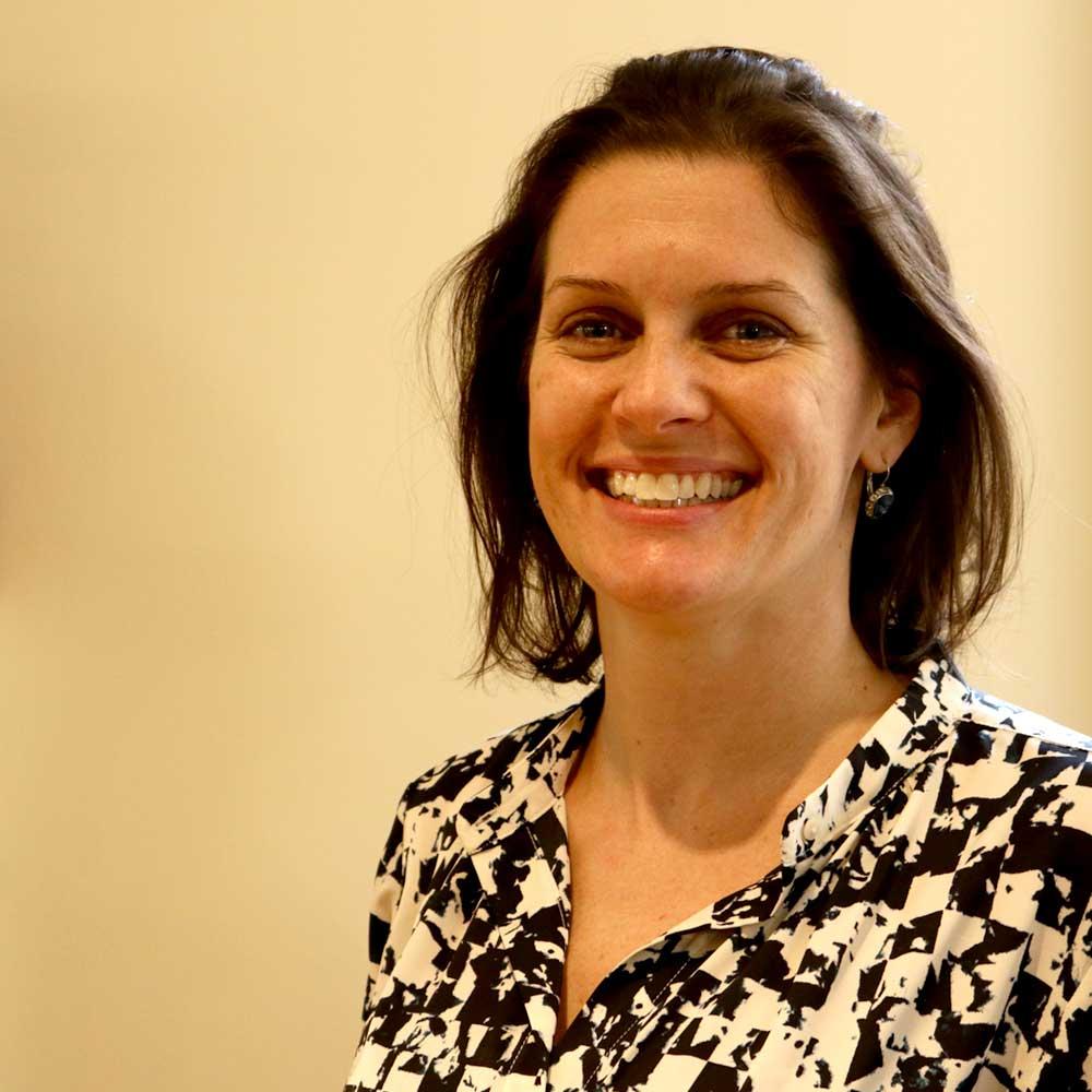 A headshot of Kelly Falvey