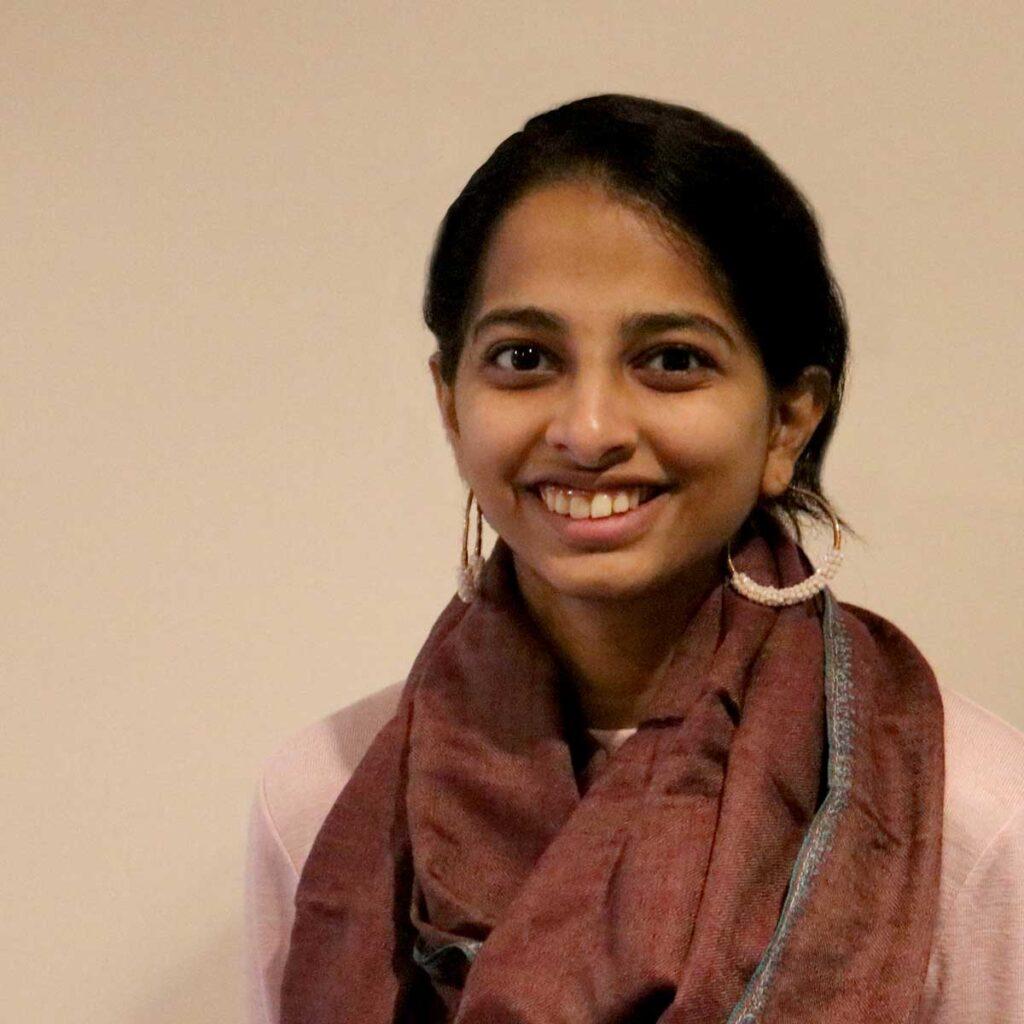 A headshot of Shivani Janani