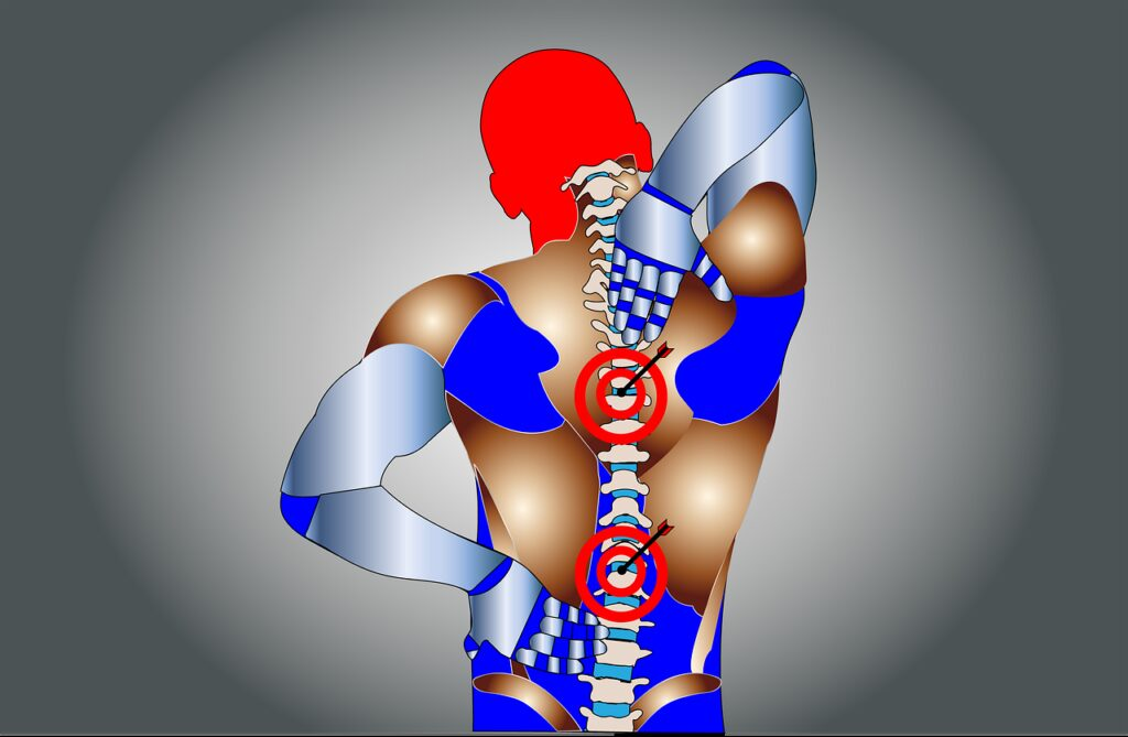 back pain, pain, spine