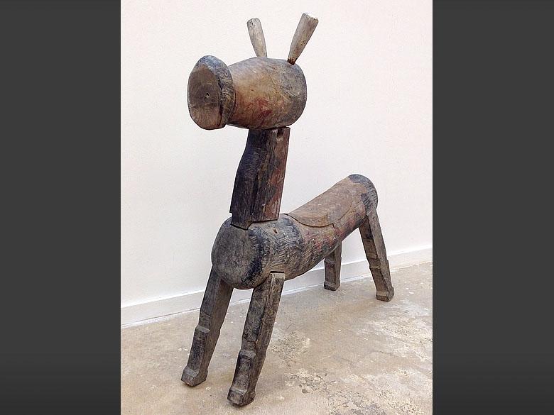 Primitive Folk Art piece - Javanese Java folk art horse