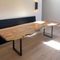 Live edge Mango dining table