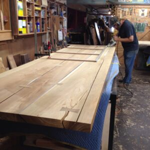 Custom Wood Slab Tables Made at the David Alan Collection