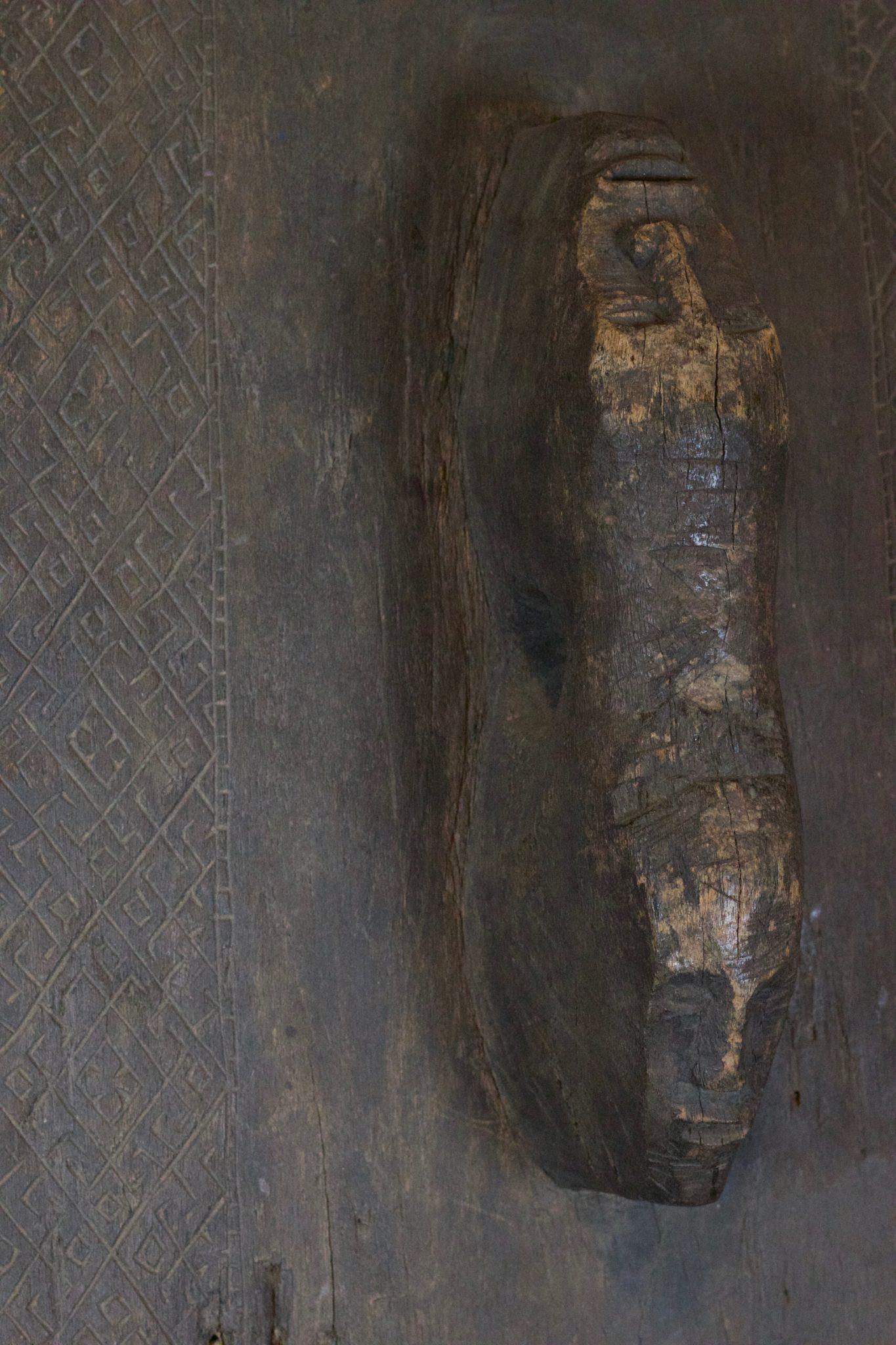 Handle Detail of Shaman Ritual Spirit Door (see previous image)