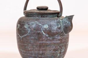 Japan Japanese Copper Tea Kettle (teapot) Teapots