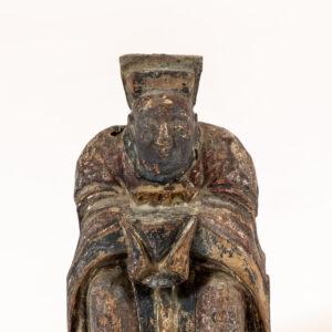 Shaman 'Nyut Hung', a Zhu Zhong Fan, Shaman Priest Altar Figure Shelf-Top