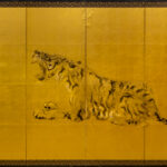 Six-Panel Gold Tiger Panel