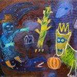 Untitled Painting by Udin Kuru