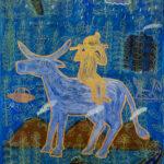 Untitled Painting by Yustoni Volunteero