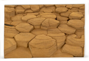"""Desert Floor"" Studio Carving, David Alan Original Design"