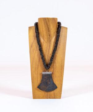 Antique Thai Axe Blade Necklace