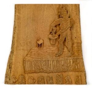 """The Magician"" Studio Carving"
