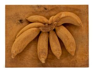 """Bananas"" Studio Carving, David Alan Original Design"
