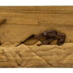 """Farming"" Studio Carving, David Alan Design"
