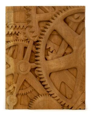 """""""Gears"""" Studio Carving, David Alan Original Desing"""