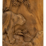 """Leopard"" Studio Carving, David Alan Original Design"