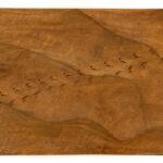 """Desert Tracks"" Studio Carving, David Alan Original Design"