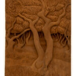 """Dense Jungle"" Studio Carving, David Alan Original Design"
