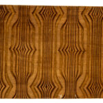 """Art Deco Pattern"" Studio Carving, David Alan Original Design"