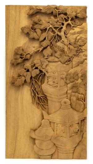 """""""Cliffside Monkeys"""" Studio Carving, David Alan Original Design"""