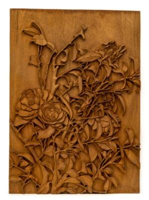 """""""Roses"""" Studio Carving, David Alan Original Design"""