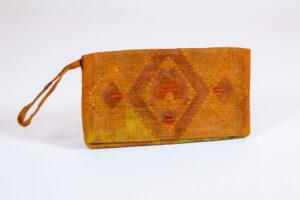 David Alan Designs Clutch Purse of Vintage Kimono Fabric