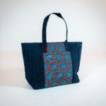 David Alan Designs Tote Bag of Vintage Kimono Fabric