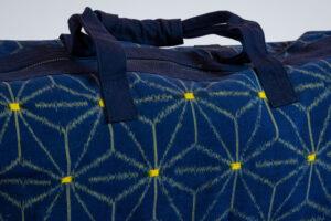 Vintage Kimono Fabric Accessories Weekender Bag of Vintage Kimono Fabric David Alan Designs
