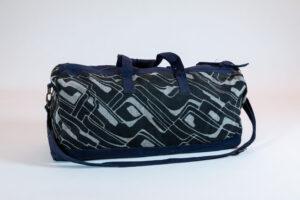 David Alan Designs Weekender Bag Of Vintage Kimono Fabric