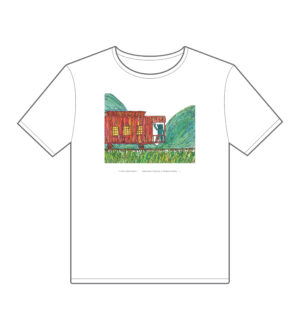 Monster and Me Freight Train Tee