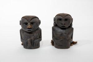 Shaman Effigy Figures (Male and Female Pair)