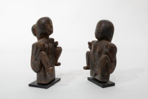 Indonesia Ancestral Ritual Offering Figures (Pair) Shelf-Top