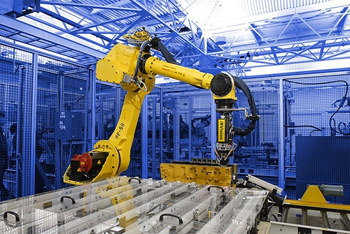 enhance lean manufacturing with robotic automation