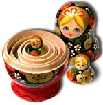 Nesting dolls image