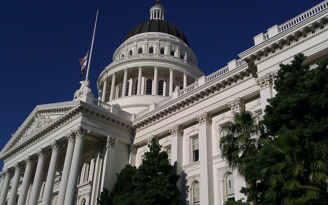 Bills That Made It in Sacramento and Some Which Didn't