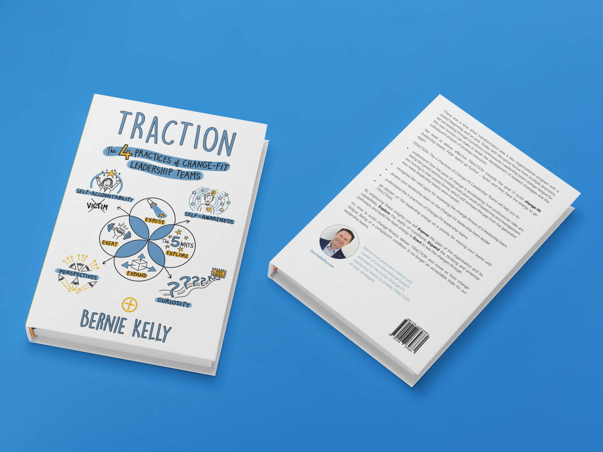 3D traction book cover