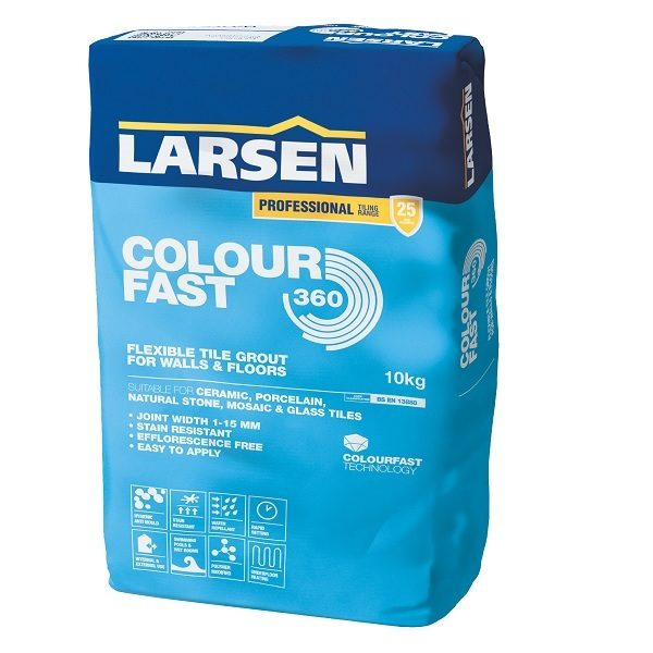 colourfast grout 10kg