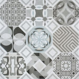 The Carmona Floor or Wall Tile 60.8cm x 60.8cm has a unique multi-functional appearance with a smooth satin finish.